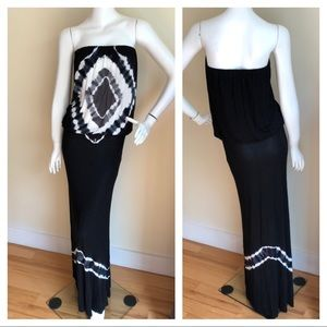 NEW Young Fabulous and Broke strapless maxi dress